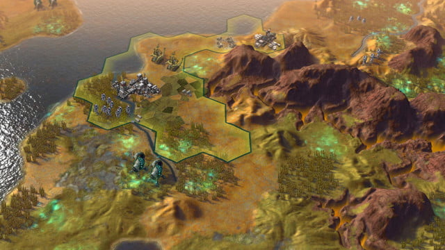 will first 250 turns civilization beyond earth shape screenshot 4