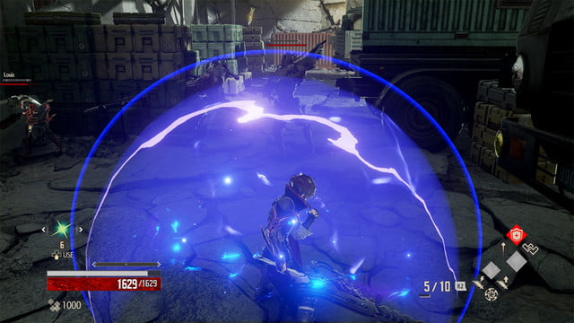 Code Vein review energy bubble