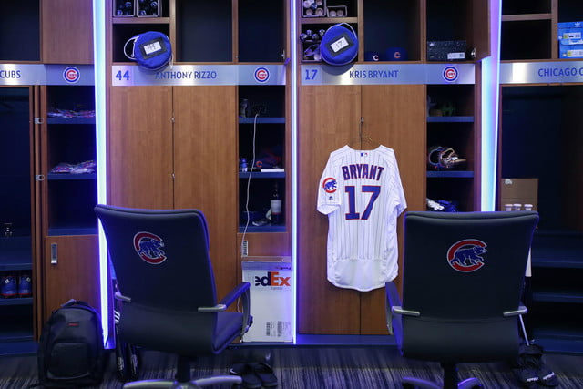 chicago cubs clubhouse gets updated 2