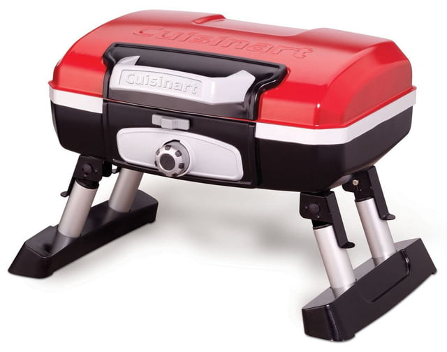 amazon drops prices for cuisinart grills smokers and bbq accessories cgg 180t petit gourmet portable tabletop gas grill 1