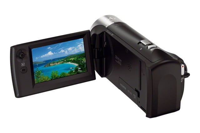 sony handycam camcorders ces 2014 cx240b  back 1200