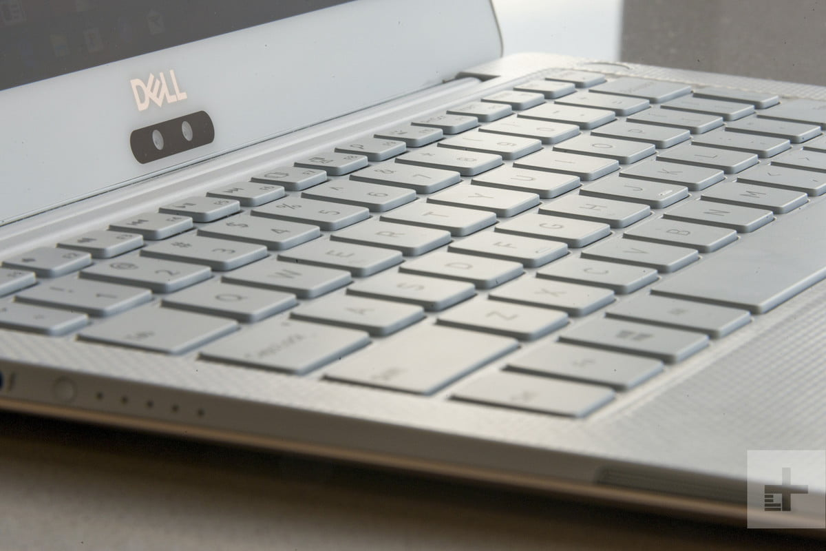 Dell XPS 13 9370 review | Keyboard angled photo