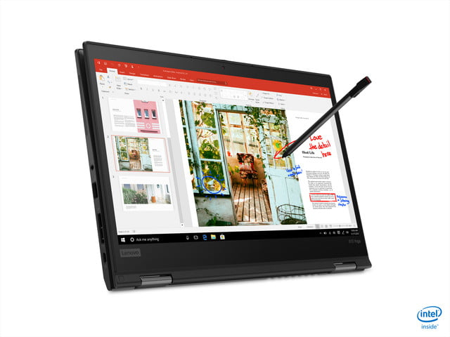 lenovo announces new thinkpad l x and t models for 2020 09 x13 yoga black hero tablet horizontal front facing