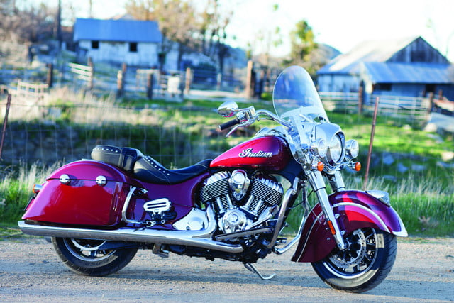 2016 Indian Springfield touring