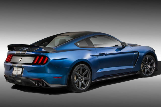 2016 Shelby GT350R rear angle