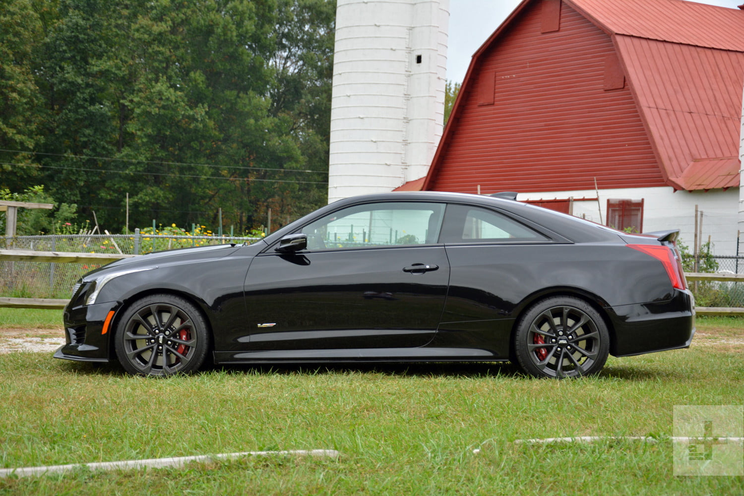 2017 Cadillac Ats V Coupe Review Performance Pictures And More Digital Trends