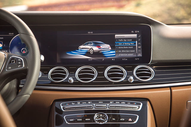 2017 mercedes benz e300 first drive e class console