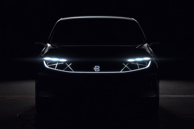chinese ev startup byton teases new electric suv for ces on january 7 2018  teasers