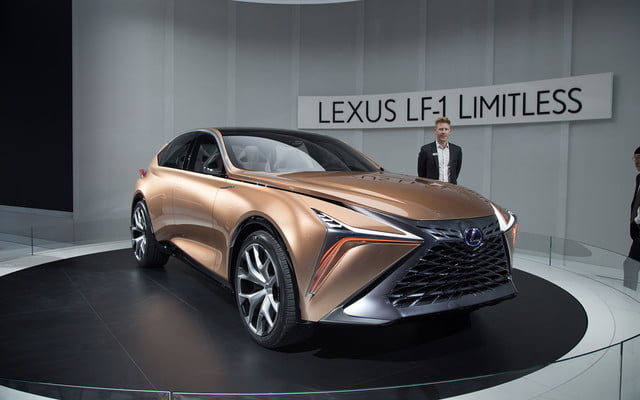 the lexus lf 1 limitless concept previews a new direction for flagship crossover 2018 detroit  5