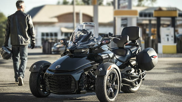 2018 Spyder F3 loaded with accessories