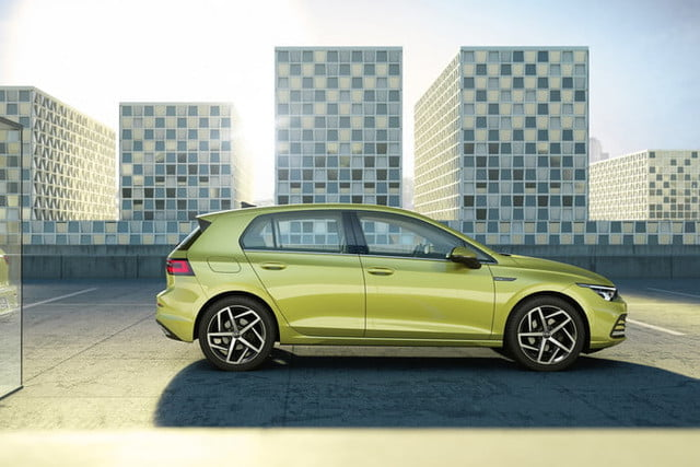 new 2020 volkswagen golf gets big tech powertrain upgrades official 7