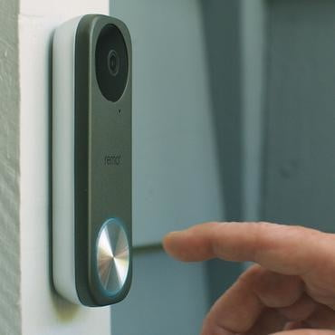 remo remobell s video doorbell 4 installed 370x