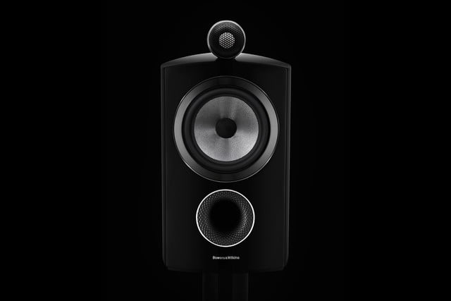 bowers wilkins 800 series diamond ds3 805 black front