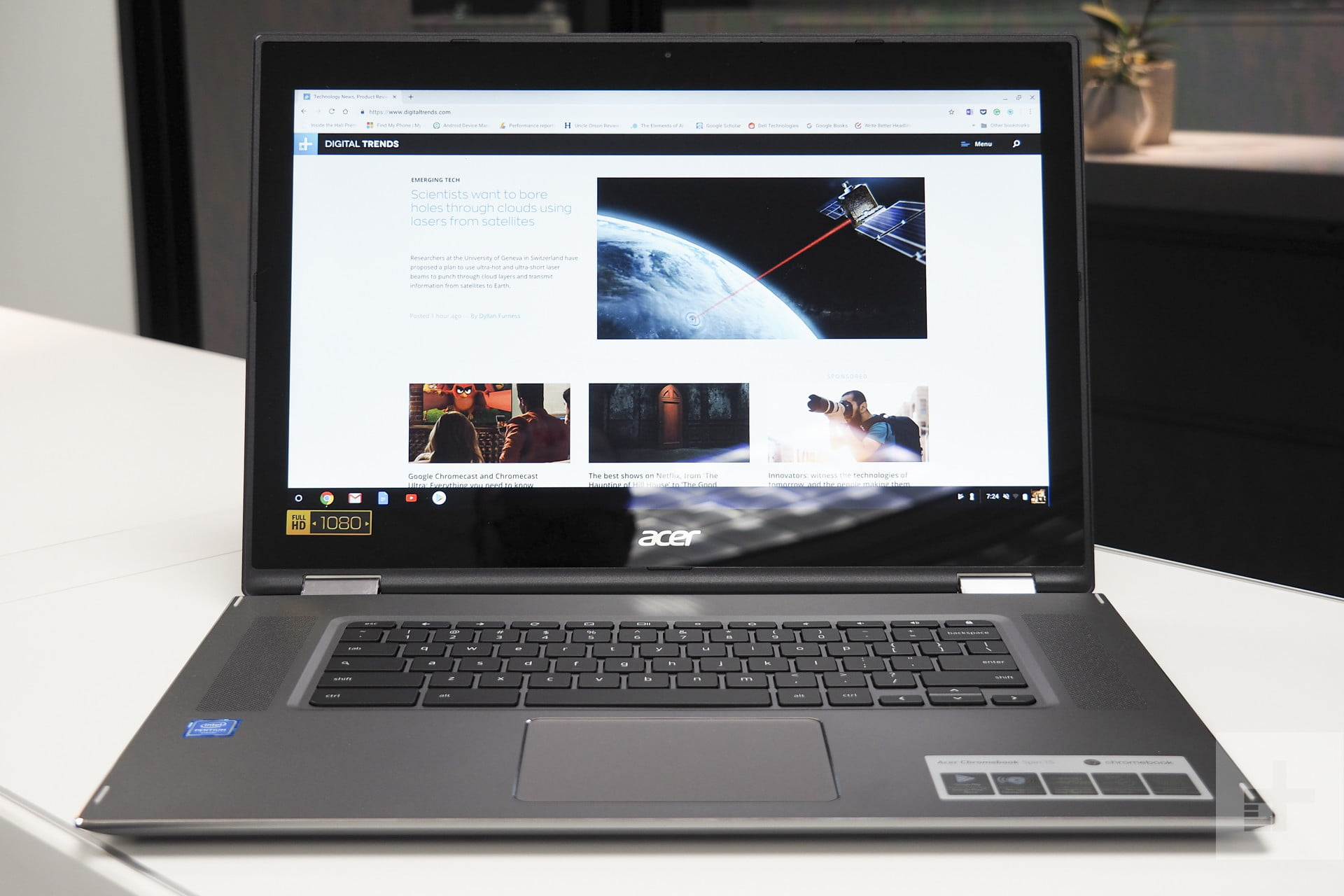 Acer Chromebook Spin 15 Review | Digital Trends