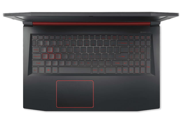 acer introduces nitro 5 gaming notebook gtx 1050 ti intel optane top keyboard