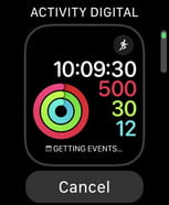 Fitness Apple Watch faces
