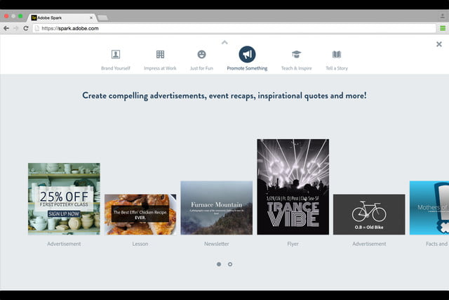 adobe launches spark design apps web 4