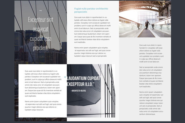 adobe max 2016 stock template brochure
