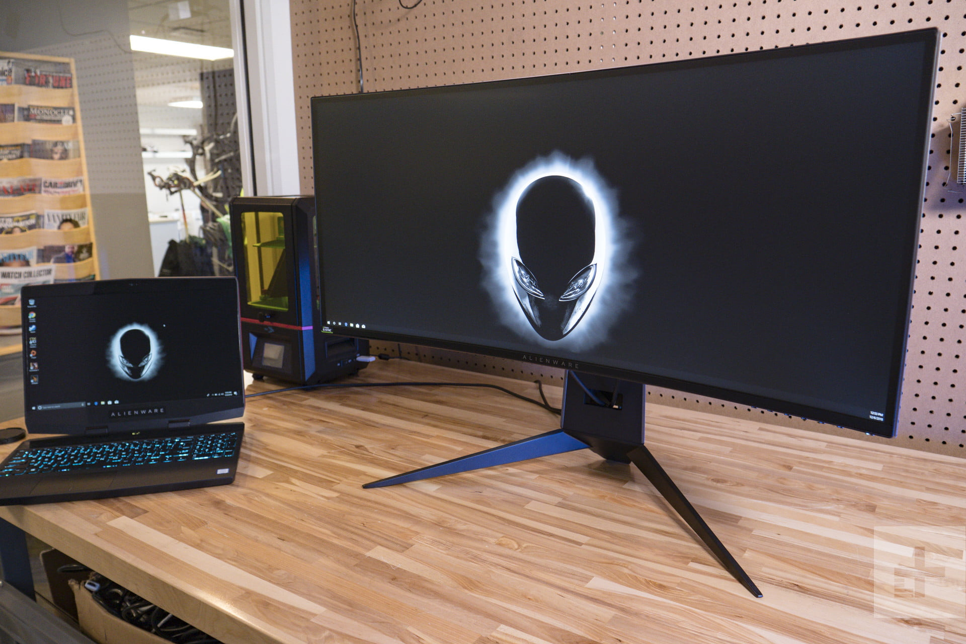 Dell Alienware 34 Curved Gaming Monitor (AW3418DW)