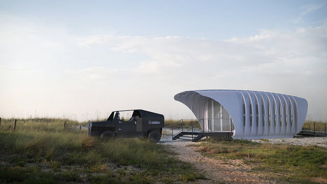 sustainable 3d printed home gets energy from companion car amie 1 0 som 002