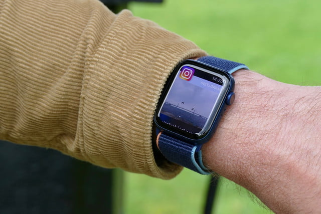 apple watch series 6 review instagram notification