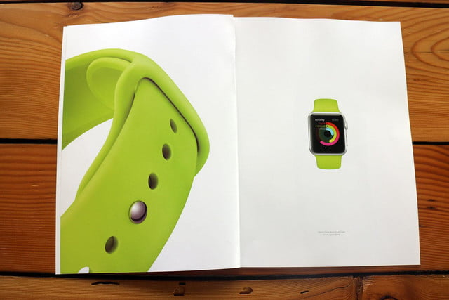 apple watch splashed across 12 pages of vogues march issue vogue ad 6115