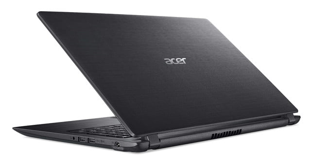 acer introduces new pcs at next event aspire 3 rear left facing