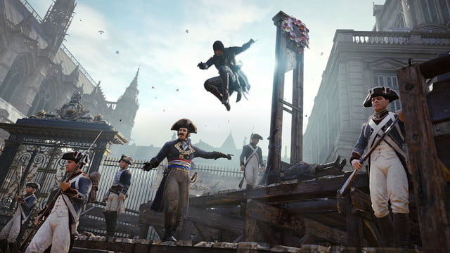 assassins creed unity reveals new weapons missions team opportunities assassinatingexecutioner