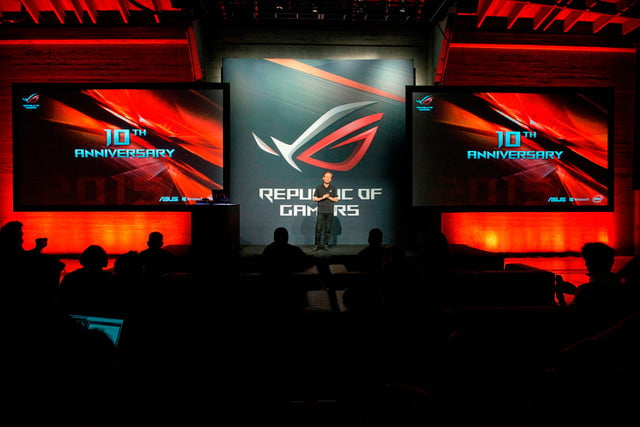 asus republic of gamers unleashed chairman jonney shih celebrates the near 10th anniversary