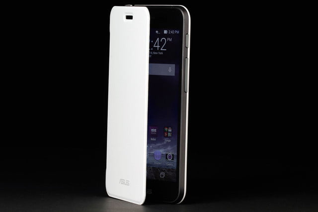 ASUS PadPhone Station phone front angle