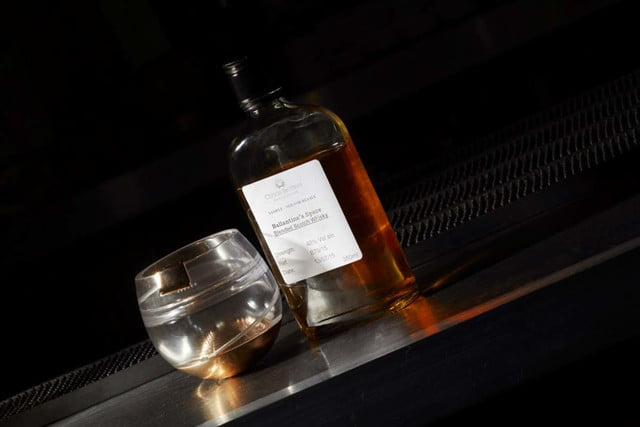ballantines has invented a zero gravity whisky glass so you can get buzzed in space 001