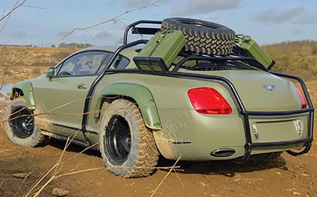 Bentley Continental GT 'rally edition'