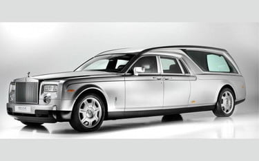 Go in style with a Rolls-Royce hearse | Digital Trends
