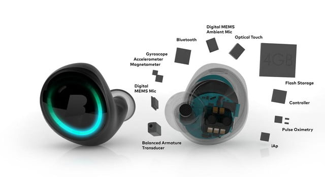 feature packed dash headphones surface at ces bragi explosion