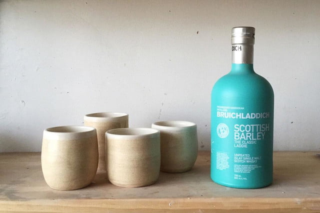 Bruichladdich and Helen Levi present ceramic whisky vessels