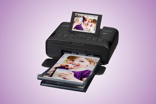 Make Your Home a Photo Booth with the Canon Selphy CP1300