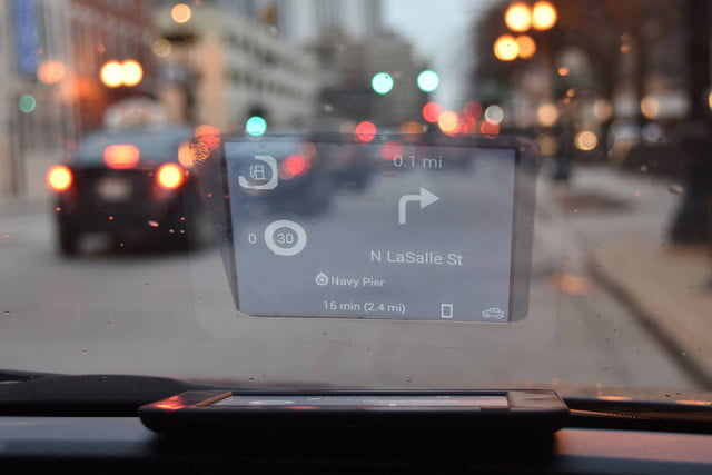 awesome tech you cant buy yet blipcast ruggie carloudy  hud for your car s windshield