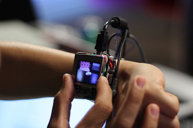 carnegie mellon research on smartwatch features prototype 005