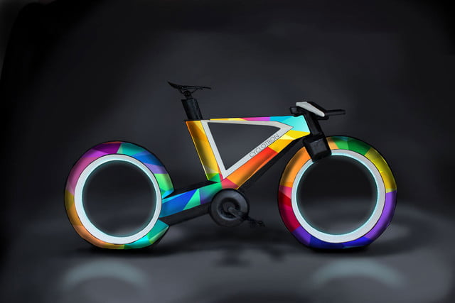 awesome tech you cant buy yet zafirro renegade cyclotron  hubless carbon fiber bicycle
