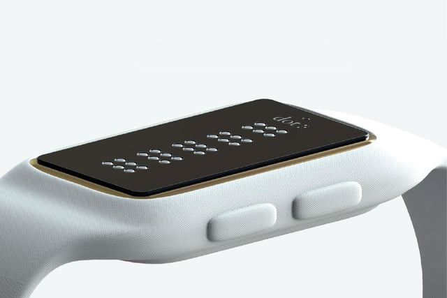 dot braille smartwatch visually impaired 1
