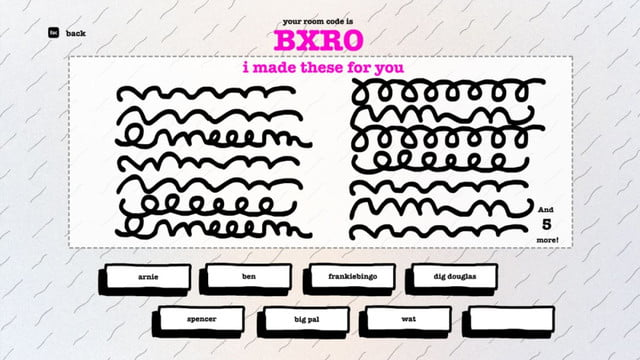 smartphone group games drawful squiggles