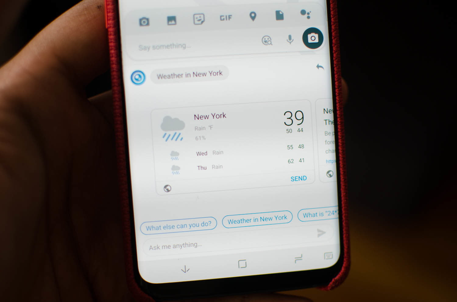 TouchPal's Talia Assistant Improves the Mobile Keyboard
