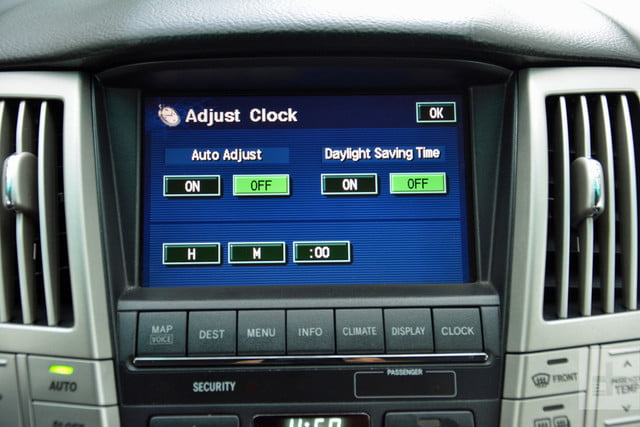 the evolution of car infotainment systems dt first gen lexus rx system 7