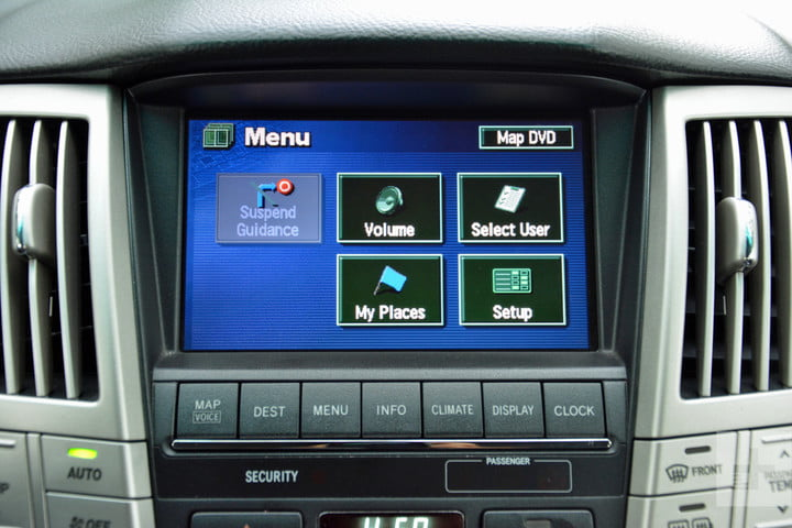 the evolution of car infotainment systems dt first gen lexus rx system 8
