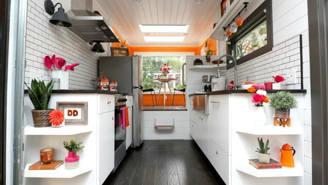 dunkin tiny home biofuel donuts home9 1019x574