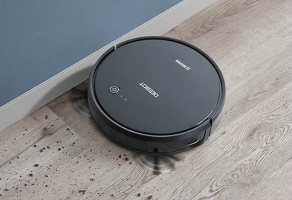 amazon cuts the price in half for ecovacs deebot 601 robotic vacuum one day 2