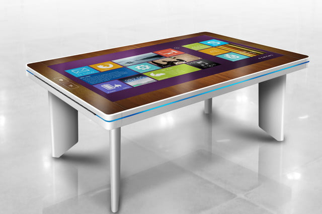 cima wants to put 40 inch touchscreens in coffee tables faya interactive tabletop 2