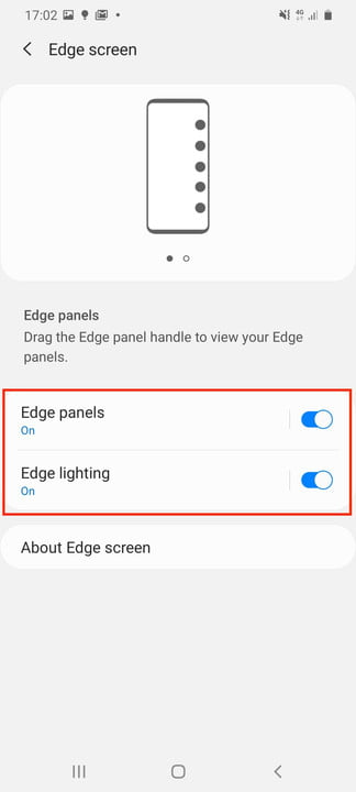 galaxy s20 ultra tips tricks settings edge screens setting