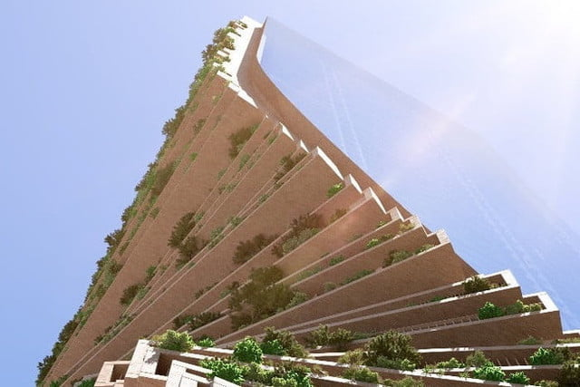 spectacular twisting tower could become australias tallest building green spine 4
