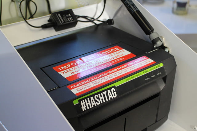 hashtag instagram printer hands on mini twitter  0128